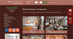 Preview of hotelpolonez.pl