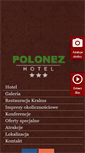 Mobile Preview of hotelpolonez.pl